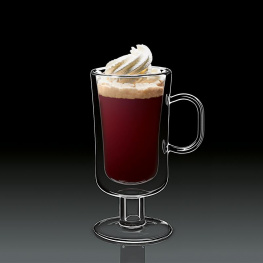 Фото чашки luigi bormioli thermic glass, irish coffee, 250 мл, (2 шт.)