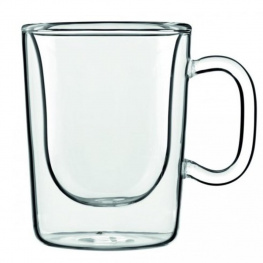 Фото чашки luigi bormioli thermic glass, aroma coffee, 300 мл, (2 шт.)